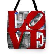 Love Philadelphia Red Tote Bag