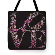 Love Quatro - S08a Tote Bag by Variance Collections