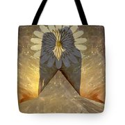Love Romance Another World Happiness Pleasure Abundance Bounty Top Of The Mountain Cloud Nine Carele Tote Bag