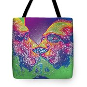 Love Self Evident Aka Portrait Of Flap Jack Stevens Tote Bag