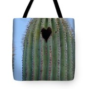 Love Shack Saguaro With A Heart Tote Bag