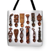 Love Spoons Tote Bag