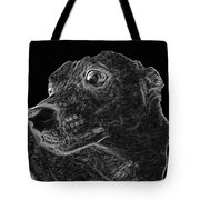 Love The Concern Pet Dog Rendering Tote Bag