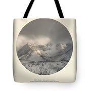 Love The Mountains... Tote Bag