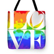 Love The Rainbow Tote Bag