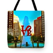 Love Town Tote Bag