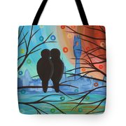 Lovebirds In P-town Tote Bag