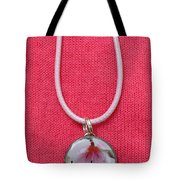 Loved With An Everlasting Love Pendant Tote Bag