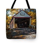 Lovejoy Covered Bridge Tote Bag by Bob Orsillo