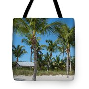 Lovely Beach On Key West East Side Tote Bag
