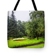 Lovely Garden In St. Petersburg - Russia Tote Bag