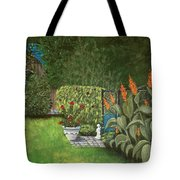 Lovely Green Tote Bag by Anastasiya Malakhova