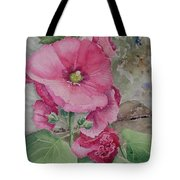 Lovely Hollies Tote Bag