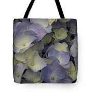 Lovely In Blue And White - Hydrangea Tote Bag