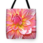Lovely In Pink - Dahlia Tote Bag