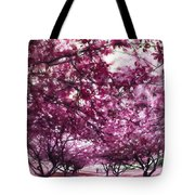 Lovely In Pink Tote Bag