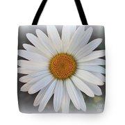 Lovely In White - Daisy Tote Bag