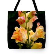 Lovely In Yellow Tote Bag