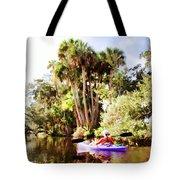 Lovely Kayaker Tote Bag