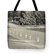 Lovely Lanterns At Longwood Tote Bag