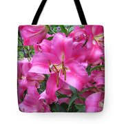 Lovely Lilies  Tote Bag