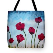 Lovely Poppies Tote Bag