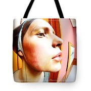 Lovely Profile Tote Bag