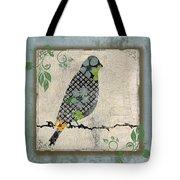 Lovely Song Bird-a Tote Bag