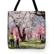Lovely Spring Day For A Walk Tote Bag
