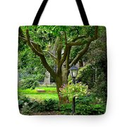 Lovely Suburban Front Yard Tote Bag