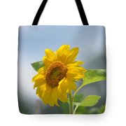 Lovely Yellow Sunflower Tote Bag