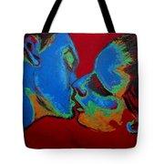 Lovers - Tender Kiss Tote Bag