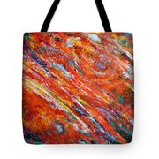 Loves Fire Tote Bag