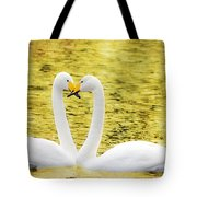 Loving Swans Tote Bag by Tommytechno Sweden