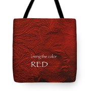 Loving The Color Red Group Avatar Tote Bag