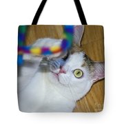 Loving The Rainbow Psychedelic Toy.. Tote Bag