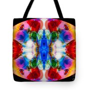 Loving Wisdom Abstract Living Artwork Tote Bag