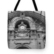 Low Angle View Of A Building, Antwerp Tote Bag