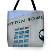 Low Angle View Of An American Football Tote Bag