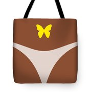 Low Back Tattoo - Butterfly Tote Bag