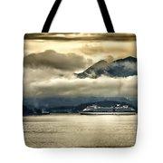 Low Clouds - Half Speed Tote Bag
