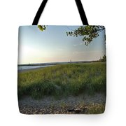 Low Sun On The Dunes Tote Bag