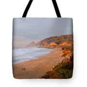 Low Sun On The Pacific Tote Bag