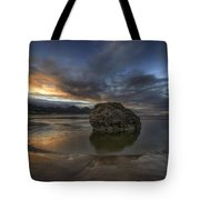 Low Tide At Cannon Beach Oregon Tote Bag