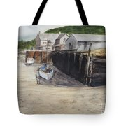 Low Tide At High Noon Tote Bag