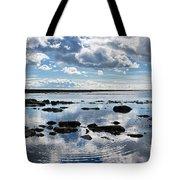 Low Tide At Lyme Regis 2 Tote Bag