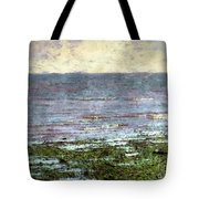 Low Tide At Sunrise Tote Bag