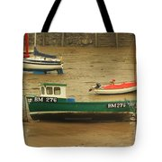 Low Tide Blues Tote Bag