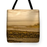 Low Tide Cape Porpoise Maine Tote Bag