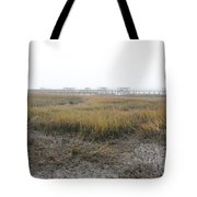 Low Tide Fog Tote Bag